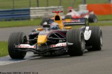 Red Bull RB1 Christian Klein. Silverstone 2005